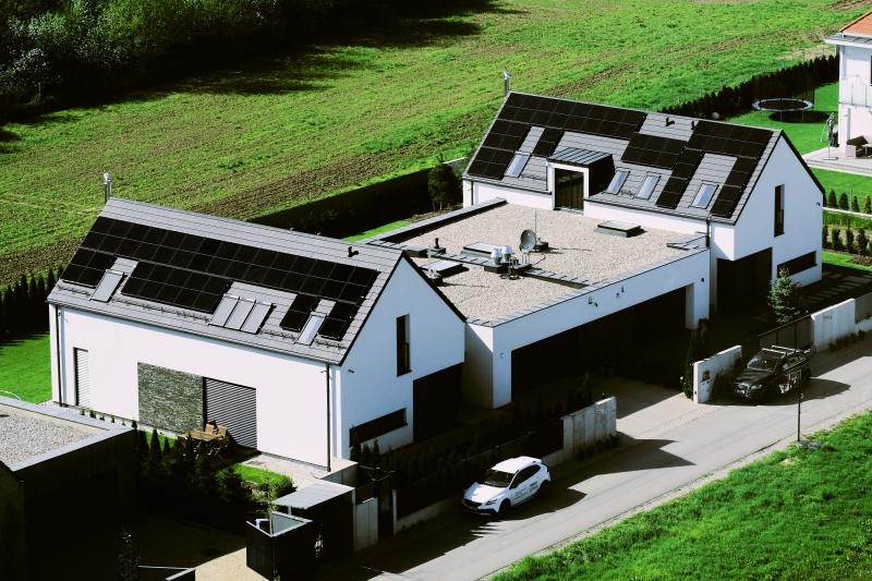 penele fotowoltaiczne na dachu